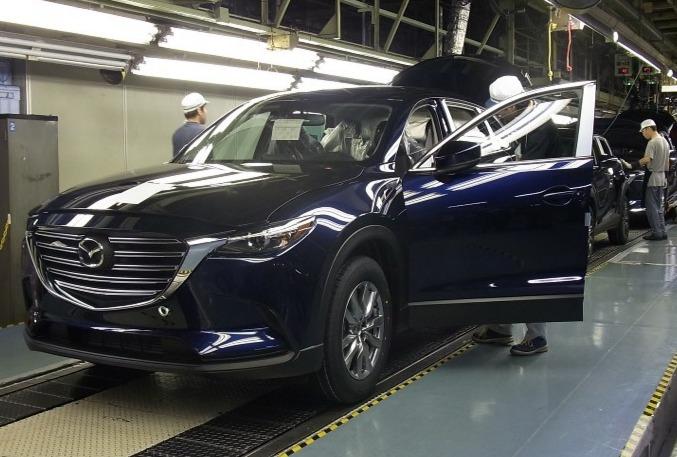 CX-9 生産開始