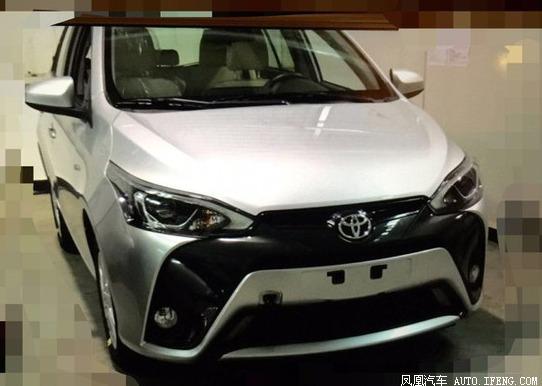 トヨタ新型ヤリス中国