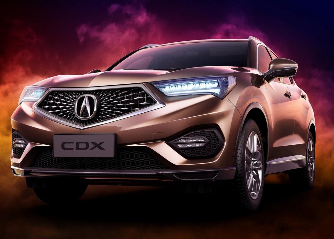 Acura CDX 2017 1