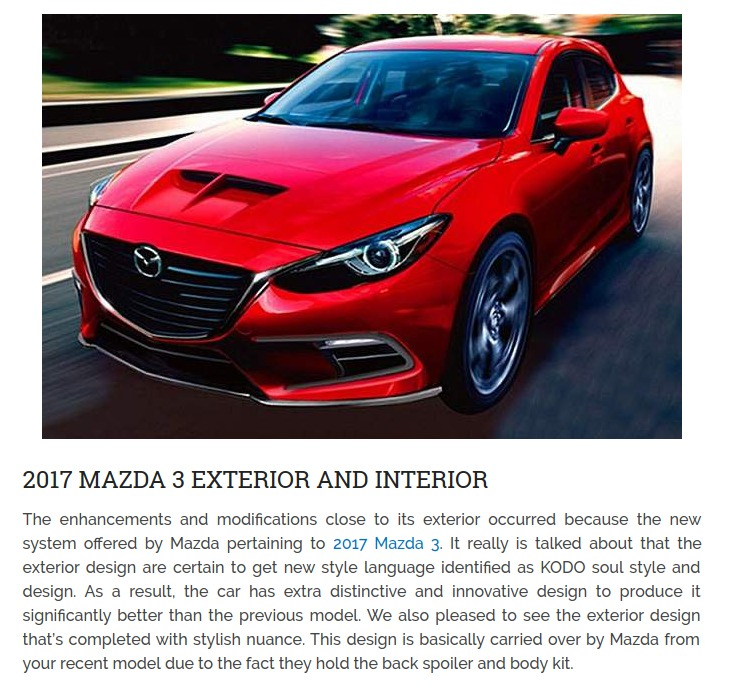 2017 Mazda 3 Speed 2016 2017 Cars Reviews