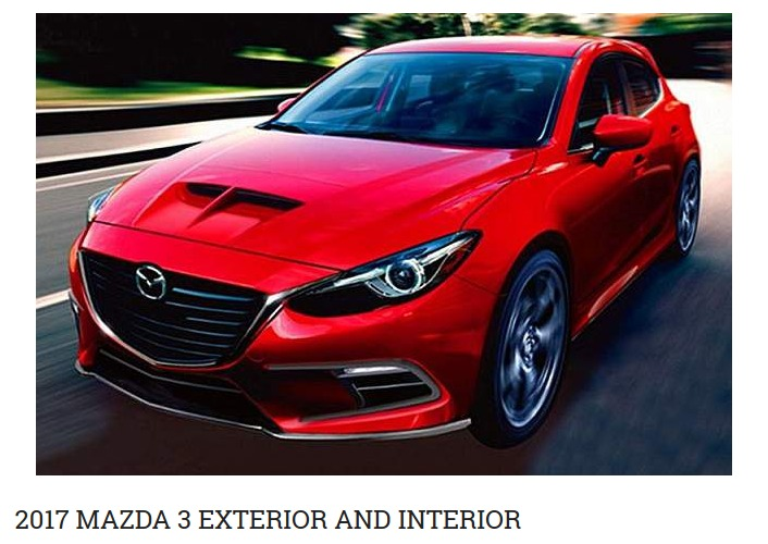 2017 Mazda 3 Speed Cars Reviews