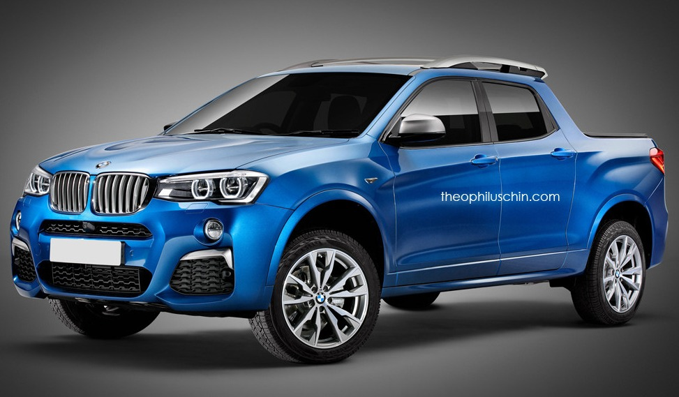Fictitious BMW X4 Pickup