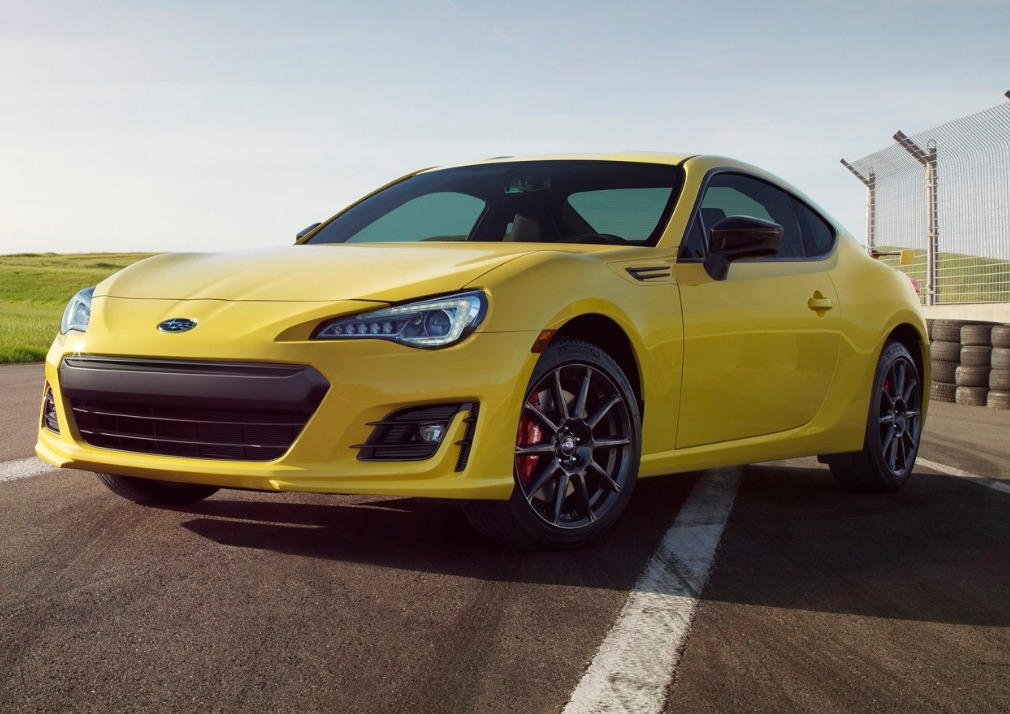 2017 Subaru BRZ Series Yellow Gets Performance Parts No Power Hike