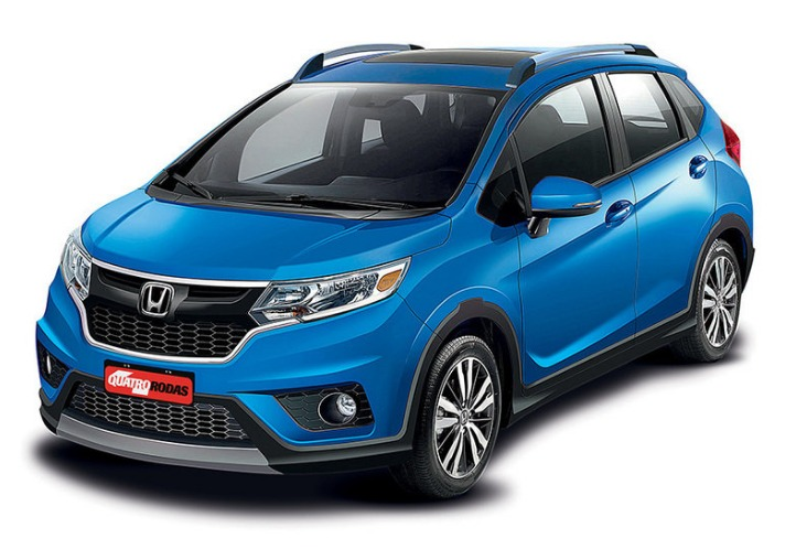 Honda WR V s Honda Jazz cross grille design leaked