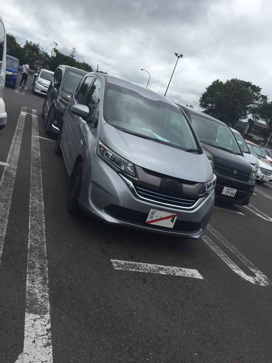 ホンダ 新型フリード実車