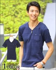 夏 メンズ ポケットTシャツ 2016-1