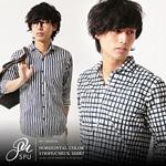 夏 メンズシャツ 大人 男性ファッション1