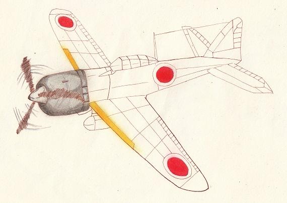 零戦22型 今日ものんびりと 2016/07/29