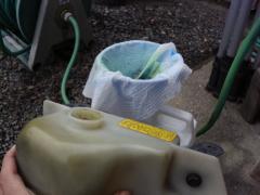 リザーブタンク清掃201610233