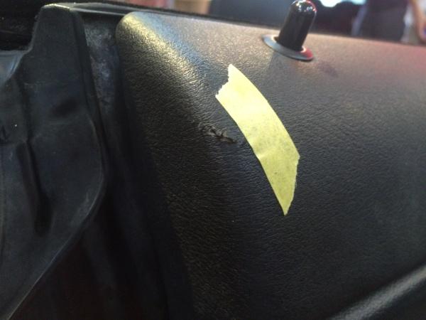 内装傷、塗装剥がれ補修 BMW 330Ci