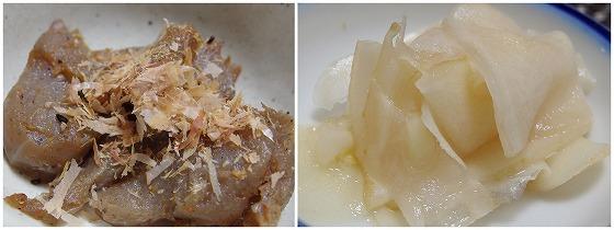 161011炒りコンニャクと甘酢生姜