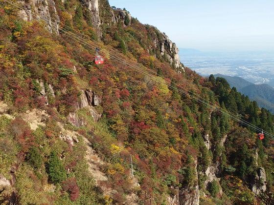 161030御在所岳の紅葉-大黒岩-2