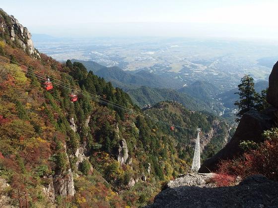 161030御在所岳の紅葉-大黒岩-3