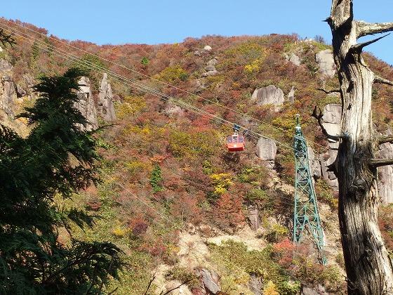 161030御在所岳の紅葉-大黒岩へ-2
