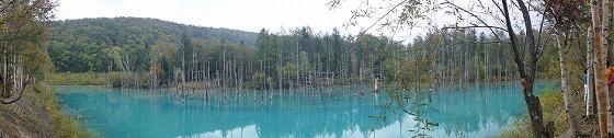 160928美瑛の青い池-2