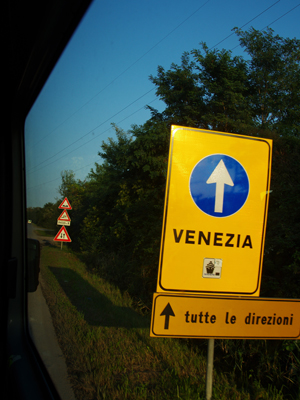 イタリア ヴェネツィア入り 140904