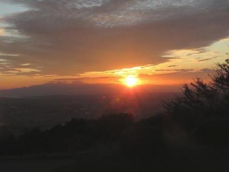 夕陽清水と 280