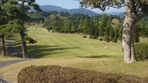 秋のゴルフ1