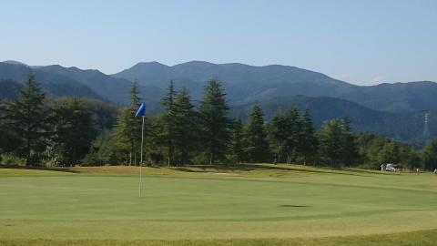 秋のゴルフ2
