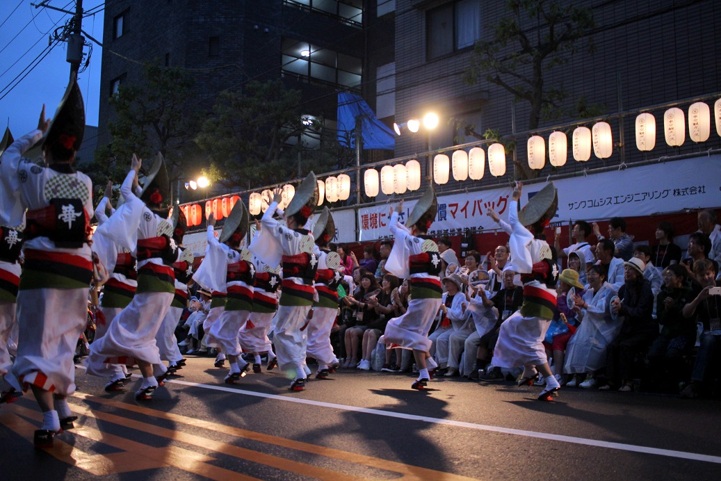 2016高円寺阿波踊り1
