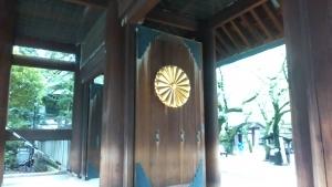 靖国神社入口
