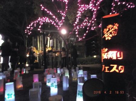 桜灯りフェスタ4