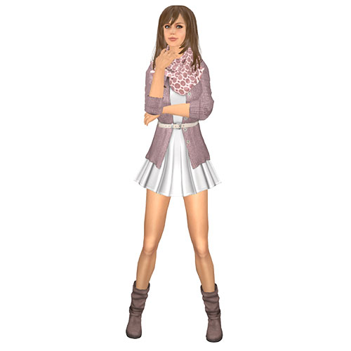 Secondlife mesh set(83) Stars*Fashion Eleana