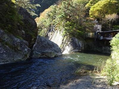 仙が滝の上