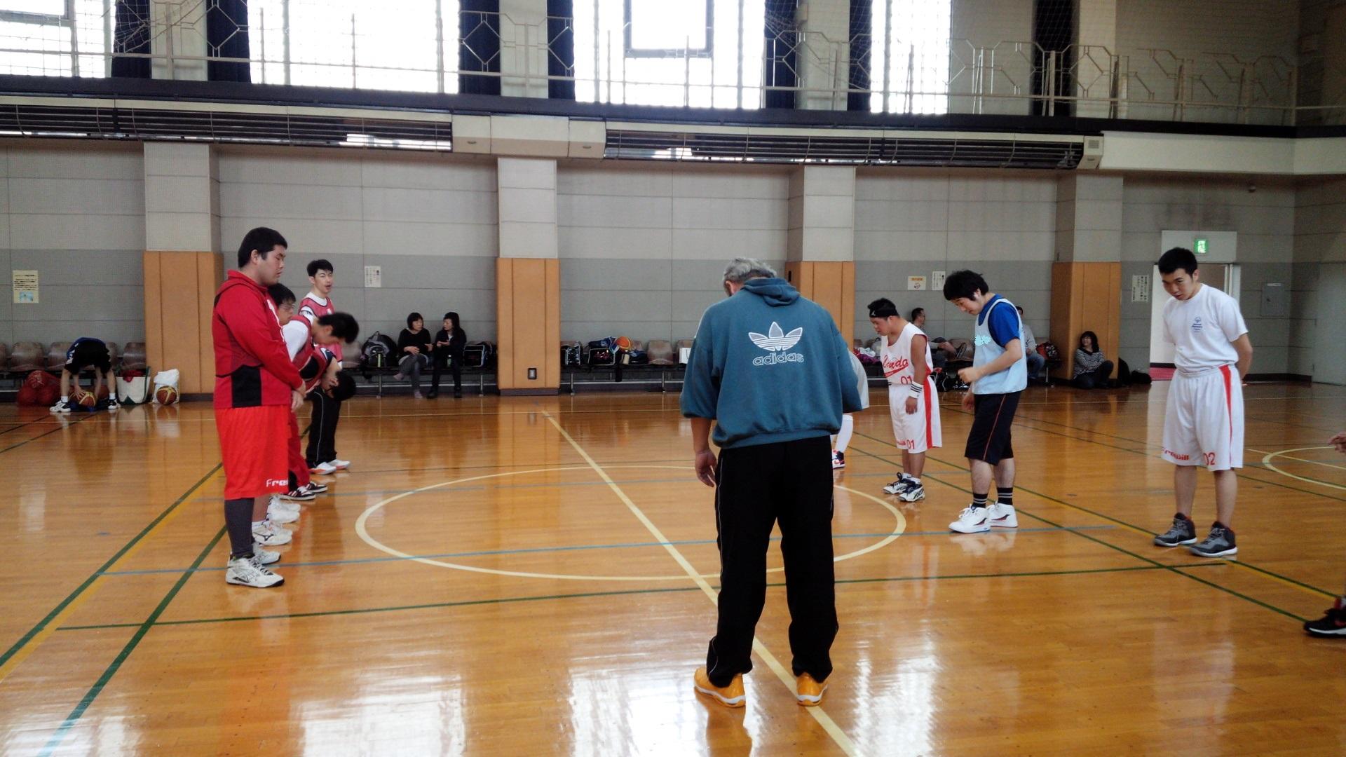 SONバスケ練習28.4月⑥