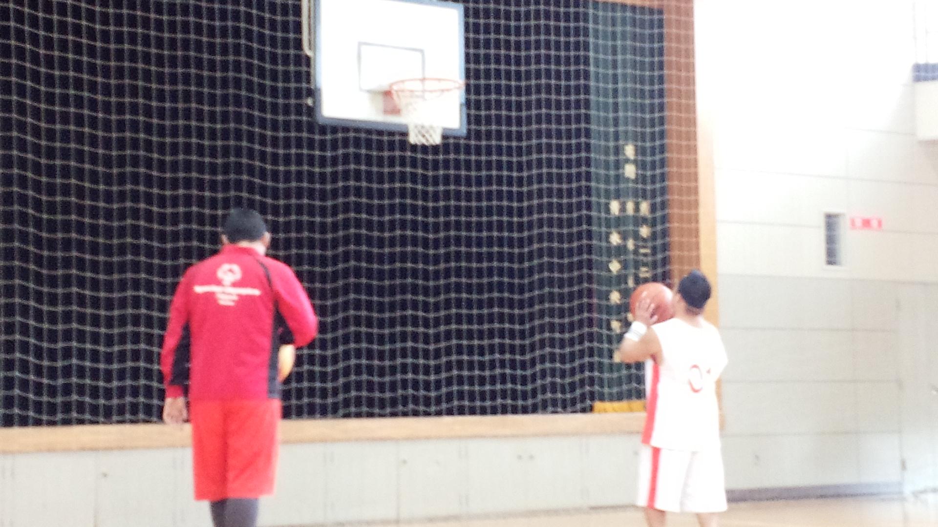 SONバスケ練習28.4月④
