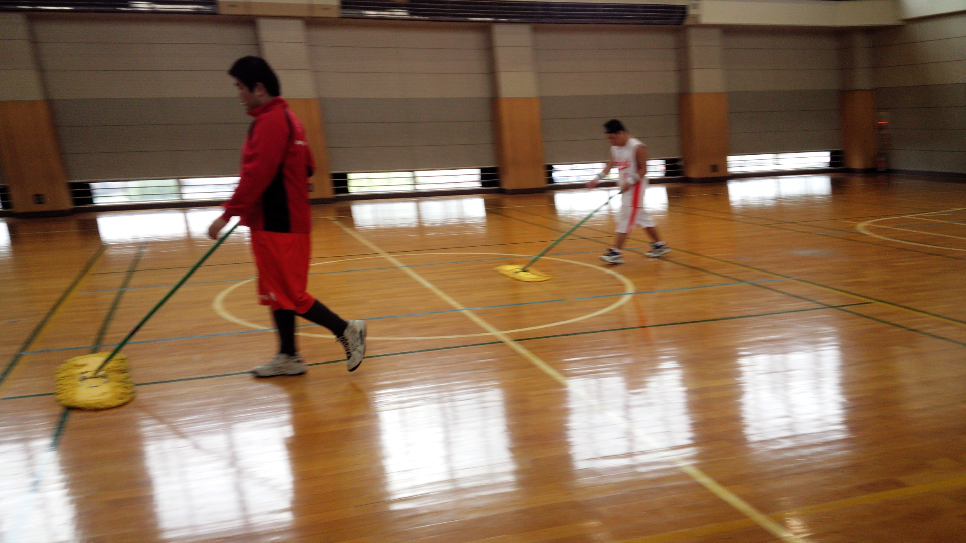 SONバスケ練習28.4月⑧