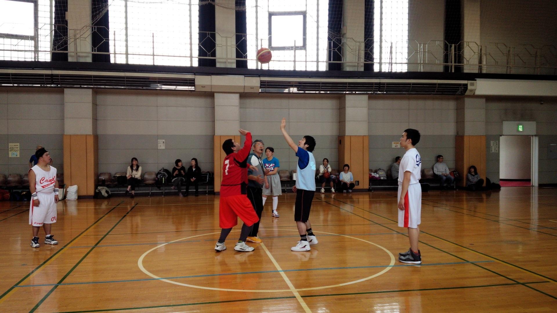 SONバスケ練習28.4月⑦