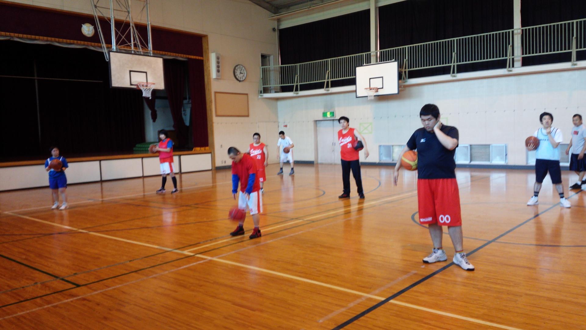 SONバスケ練習28.4月①-3