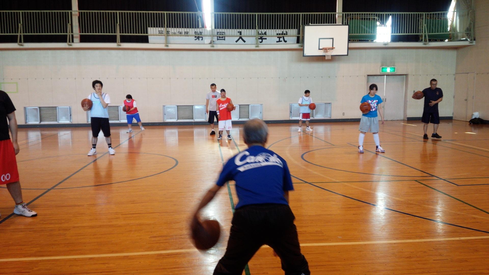 SONバスケ練習28.4月①-2