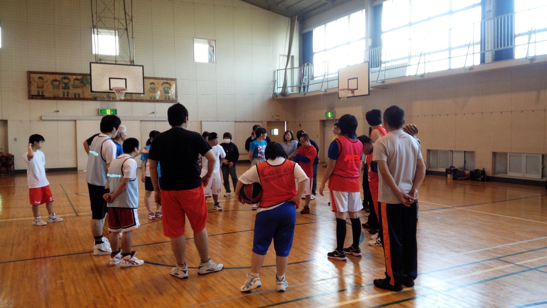 SONバスケ練習28.4月①-1