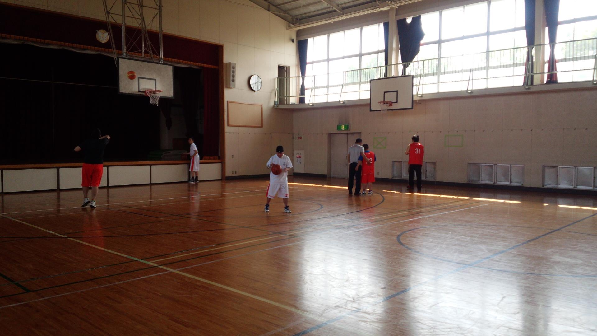 SONバスケ練習28.4月①-5