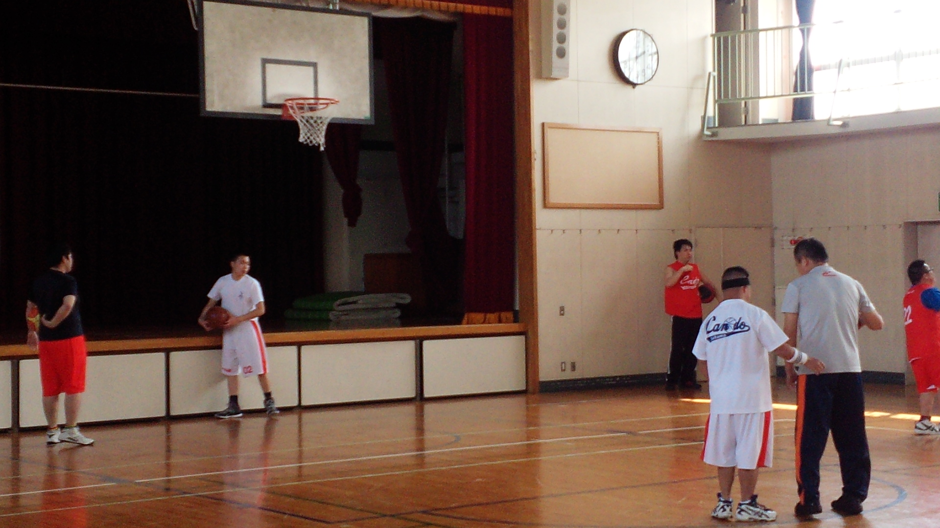 SONバスケ練習28.4月①-6