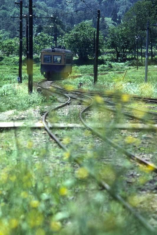 蒲原鉄道 大蒲原駅の6月 1984年6月日 16bitAdobeRGB原版 take1b