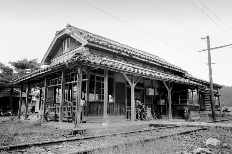 蒲原鉄道 夏の大蒲原駅2 198年 月 日 16bitAdobeRGB原版 take1b
