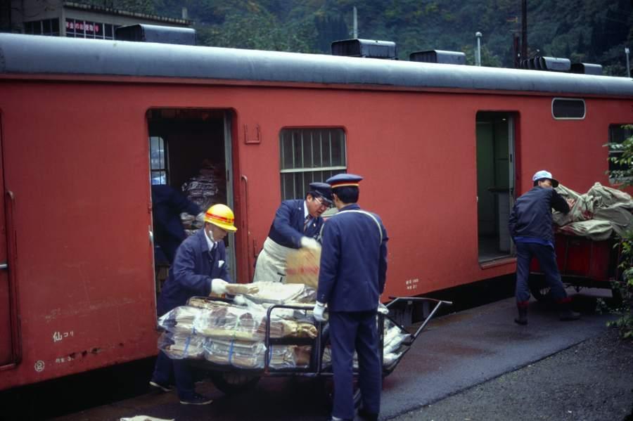 会津線 湯野上 キハユニ1 1980年11月 16bitAdobeRGB原版take1b