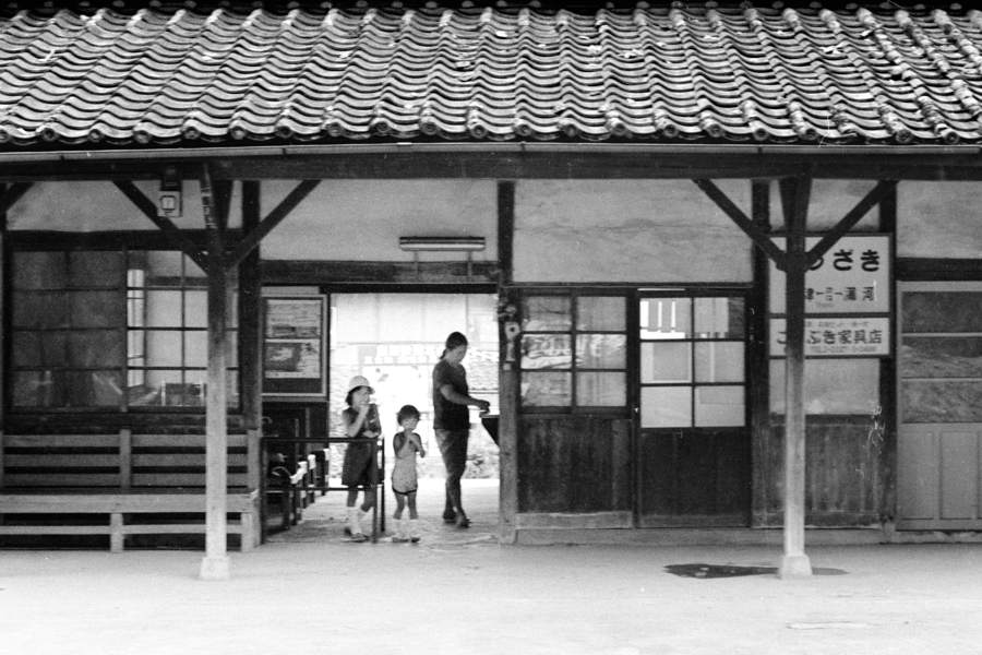 島原鉄道 堂崎駅2 1982年8月 16bitAdobeRGB 原版 take1b