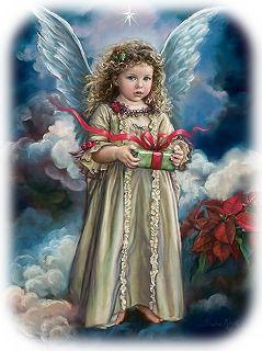 クリスマスの天使ちゃん