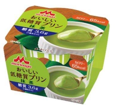 森永低糖質プリン抹茶