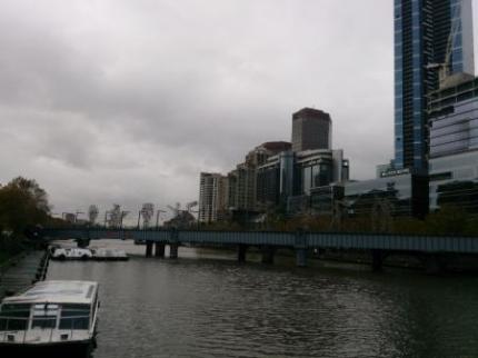 橋から見た景色