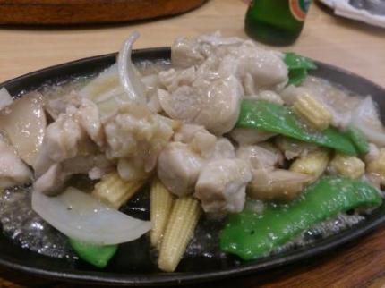 チキンの炒め物