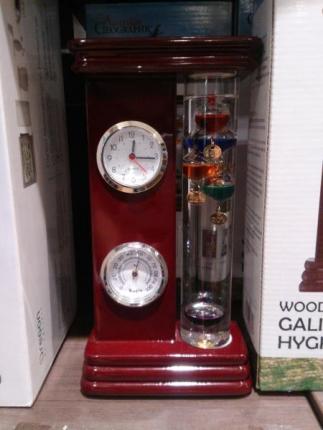 液体温度計