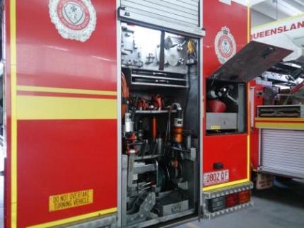 消防車の装備品