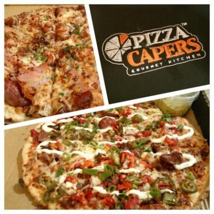 今夜のピザ