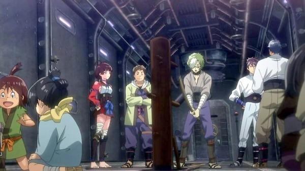 7 生駒 剣術の稽古 木偶人形 無名 逞生 来栖 きりと
