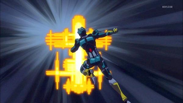 21 来人ロボット 走る 光